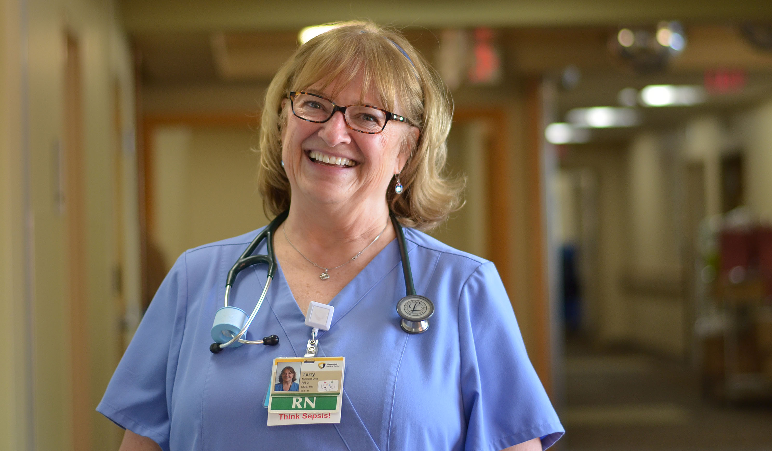 Meet our 2016 Employee of the Year: Medical nurse Terry Brown