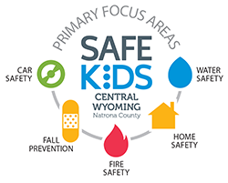 Safe Kids Of Central Wyoming SKCW Provides Injury Prevention Education And Safety Devices To Parents For Their Children As A Member
