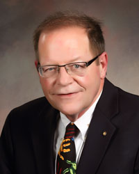 Dick Dresang is a member of the Wyoming Medical Center Foundation Board